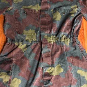 Vintage Coverall Jumpsuit Army Surplus Unisex